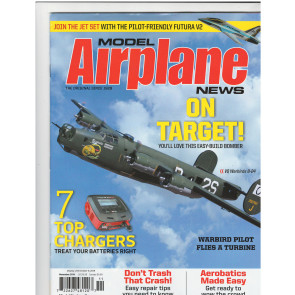 MODEL AIRPLANE NEWS MAGAZINE NOVEMBER 2019