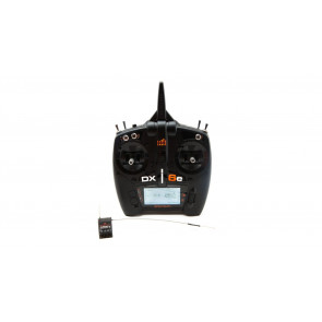 Spektrum DX6e 6-Channel DSMX Transmitter with AR610 Receiver