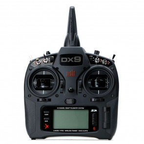 SPEKTRUM DX9 Black 9-Channel DSMX Transmitter Only, Mode 2