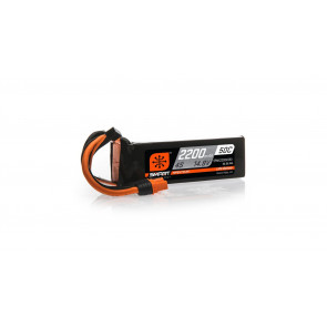 Spektrum 2200mAh 4S 14.8V 50C Smart LiPo Battery; IC3