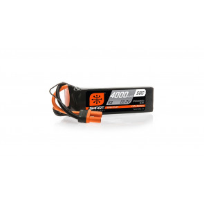 Spektrum 22.2V 4000mAh 6S 50C Smart LiPo Battery, IC5