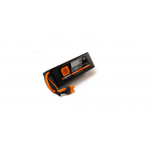 Spektrum 11.1V 5000 mAh 3S 30C Smart LiPo, Hardcase, IC3
