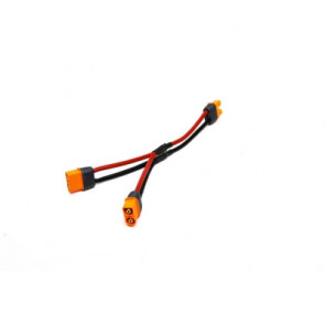 """Spektrum Adapter: IC3 Battery / Parallel Y-Harness 6"""" 13AWG"""
