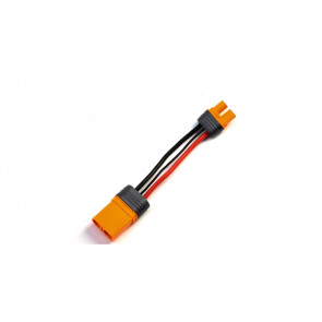 """Spektrum Adapter: IC3 Battery / IC5 Device, 4""""/100mm Wire 10 AWG"""