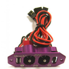 MIRACLE RC Dual Switch PURPLE