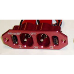 MIRACLE RC Dual Switch RED