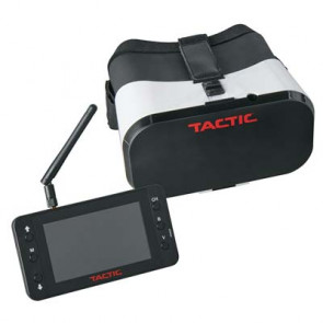 "Tactic FPV-G1 Goggles with 4.3"" 5.8GHz 40CH Monitor/DVR"