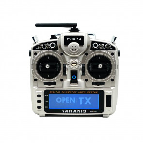 FrSKY Taranis X9D Plus Transmitter 2019 with Latest Access - Silver (Cardboard Case)