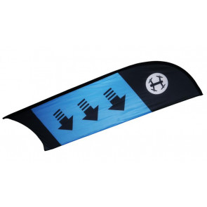 TBS RACING FLAG CHECKPOINT/ CURVE (BLUE)