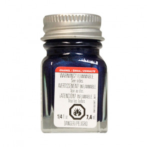 TESTORS Enamel 1/4 oz Artic Blue Metallic