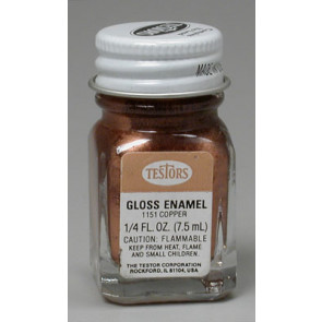 Testors Copper Metallic 1/4 oz