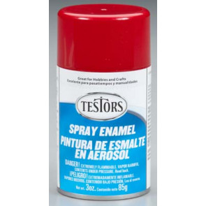 Testors Spray Custom Red Metalic Flake 3 oz