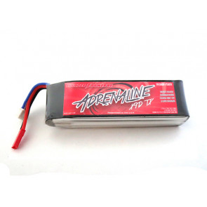 Thunder Power 2600mAh 2-Cell/2S 7.4V FPV Adrenaline X9D TX LiPo, with JST-XH and JST