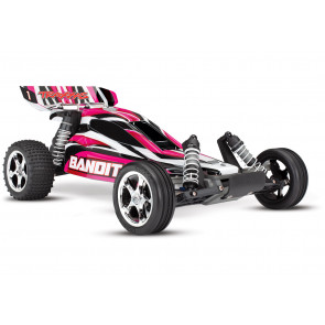 Traxxas Bandit XL-5 1/10 Scale 2WD Electric RC Buggy - PinkX