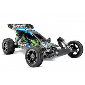TRAXXAS Bandit VXL 1/10 Scale Brushless Buggy - Green