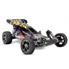 TRAXXAS Bandit VXL 1/10 Scale Brushless Buggy - Purple