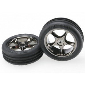 TRAXXAS WHEELS & TIRES ASSEMBLED