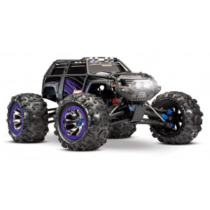 TRAXXAS 1/10 Scale 4WD Extreme Terrain Monster Truck - Purple