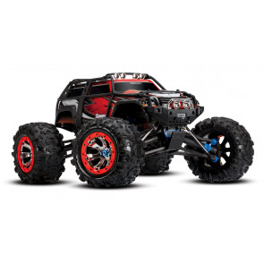 Traxxas Summit RTR 4WD EP Monster Truck w/ TQi 2.4GHz No Battery and Charger Red