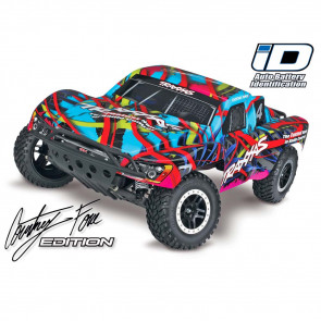 Traxxas Slash RTR w/TQ Radio Hawiian Blue/Red