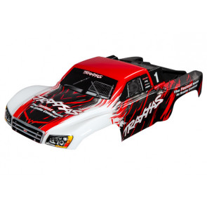 TRAXXAS Body, Slash 4X4, red (painted, decals applied)