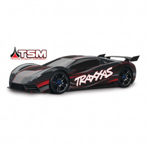 Traxxas 1/7 XO-1 Supercar TSM/TQi Brushless 4WD Black