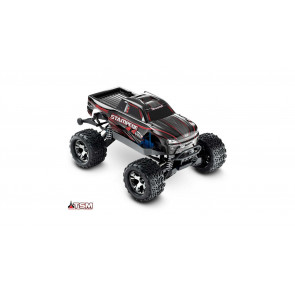 TRAXXAS 1/10 Stampede VXL 4WD Monster Truck Brushless RTR with TSM, Black