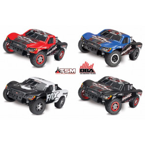 Traxxas Slash 4X4 VXL Brushless 1/10 4WD RTR Short Course Truck w/ On-Board Audio TSM
