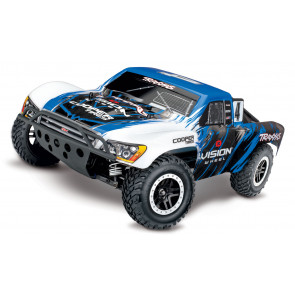 TRAXXAS 1/10 Scale 4WD Brushless Short Course Slash VXL Truck - Vision