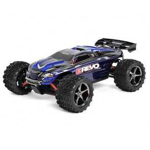 TRAXXAS E-Revo 1/16 4WD Brushed RTR Truck (Blue)