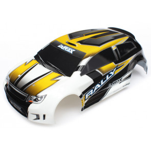 Traxxas  Body, LaTrax® 1/18 Rally, yellow (painted)/ decals
