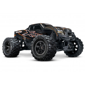 Traxxas X-Maxx 8S Monster Truck TSM 4WD RTR Orange 29.8""