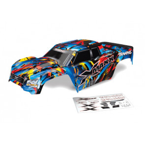 TRAXXAS X-Maxx Body - Rock & Roll