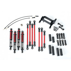 TRAXXAS LONG ARM LIFT KIT COMPLETE RED - TRX4