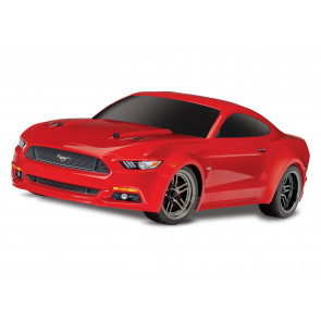 TRAXXAS RED 4-TEC 2.0 MUSTANG BODY GT