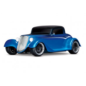 Traxxas 1/10 4-Tec 3.0 Factory Five '33 Hot Rod Coupe RTR- Blue