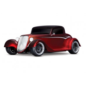 Traxxas 1/10 4-Tec 3.0 Factory Five '33 Hot Rod Coupe RTR - Red