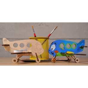 UGEARS 3D coloring model - Airplane