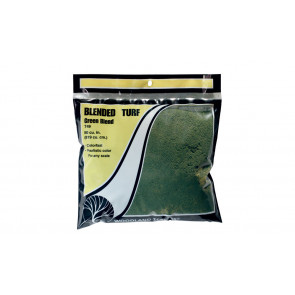 WOODLAND SCENICS Blended Turf - Green Blend - Bag
