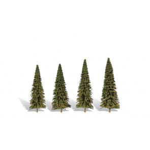 """WOODLAND SCENICS Classic Trees Forever Green 7"""" - 8"""""""