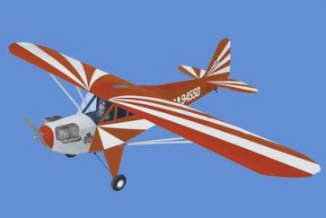 AIRBORNE MODELS CLIPPED WING CUB 1/6 SCALE RED