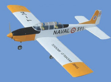 AirBorne Models T-34 YELLOW 58""