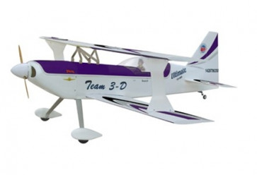 AIRBORNE MODELS 50cc ULTIMATE BIPLANE, 27% PURPLE
