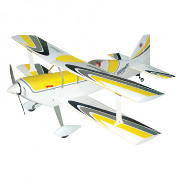 Airborne Models Ultimate Biplane 40 ARF, Yellow