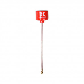 Foxeer Lollipop 5.8G LHCP Mini FPV Antenna UFL - RED