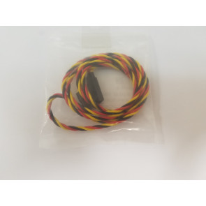 KT-2007A-8 Extension Wire, JR, Twisted, 22AWG, 36""