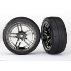 TRAXXAS Tires and wheels, assembled, glued