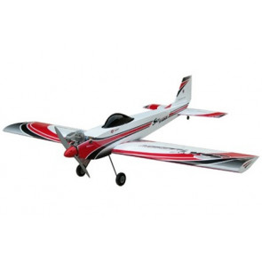 AIRBORNE MODELS SKY RAIDER MACH II RED