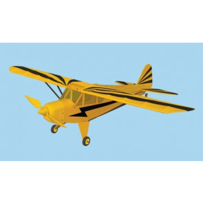 AIRBORNE MODELS PIPER J-3 CUB CLIP EP YELLOW ARF