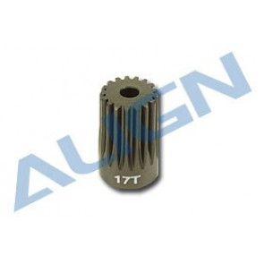 ALIGN T-REX 500 MOTOR PINION GEAR, 17 TOOTH